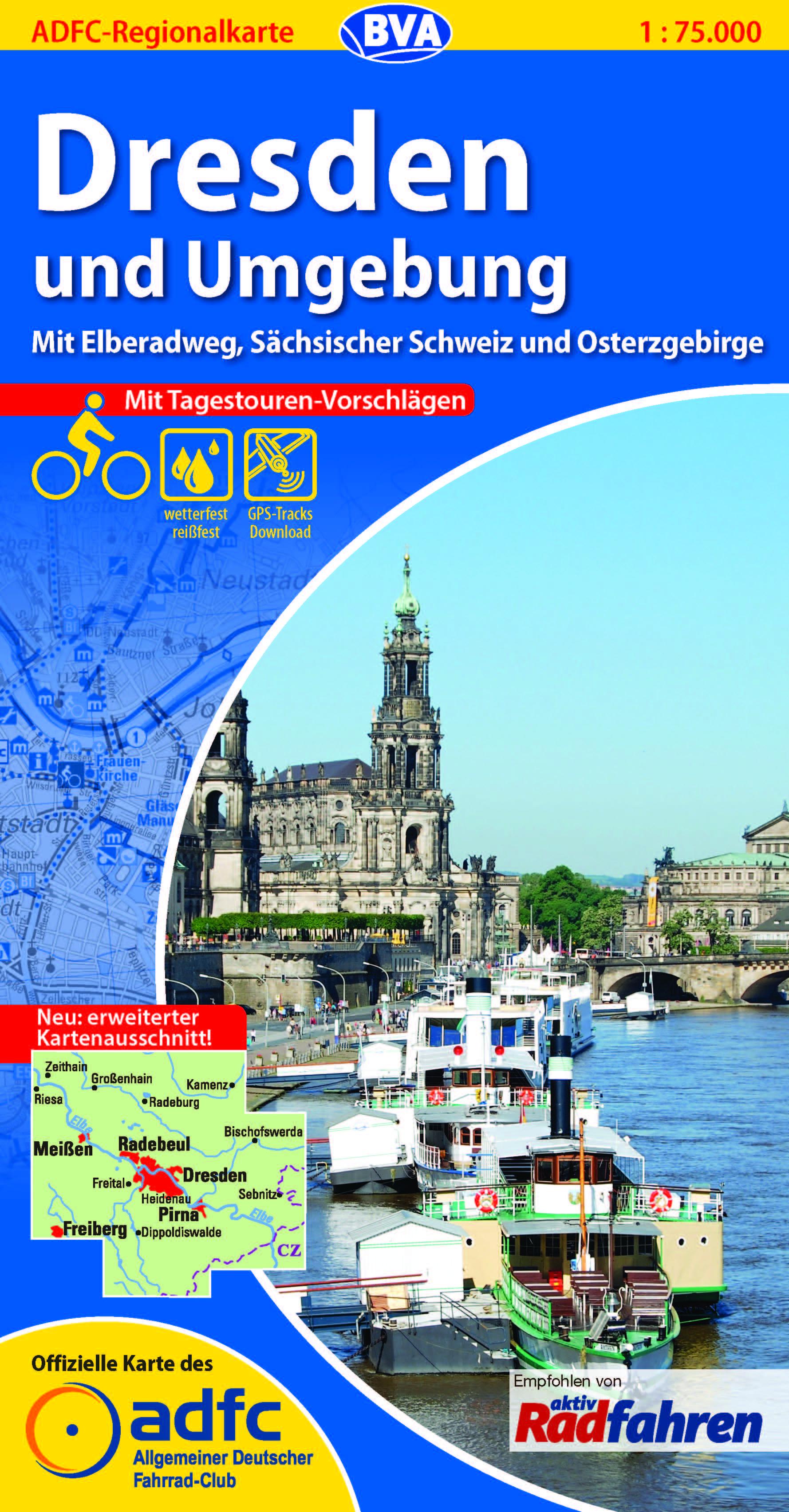 Neue Adfc Karte Dresden Und Umgebung Erschienen